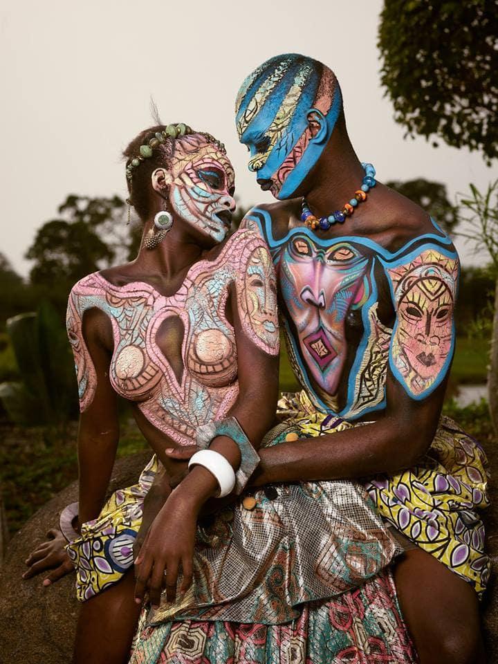 20 снимков с фестиваля бодиарта в Экваториальной Гвинее, которые выглядят сочнее некуда