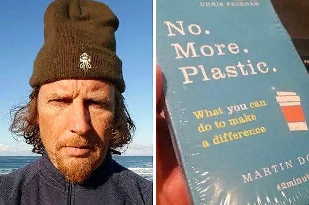 «Больше никакого пластика» написано на книге. Тогда почему она обернута в пластик?