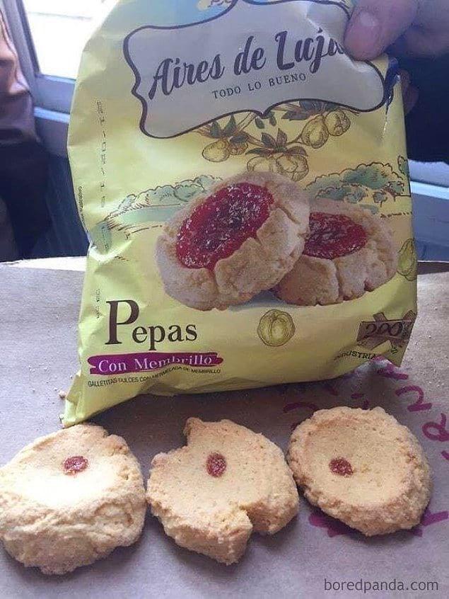 Для того, кто рисовал печенья на упаковке, уготован отдельный котел в аду