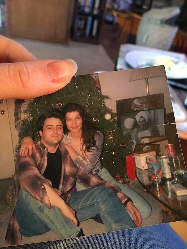 """""""Моя мама встречалась с Мэттью Лебланом и наконец-то нашла их совместное фото""""."""